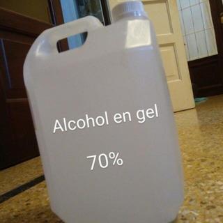 Alcohol Gel Bidon 5 Litros Antibacterial Desinfectante