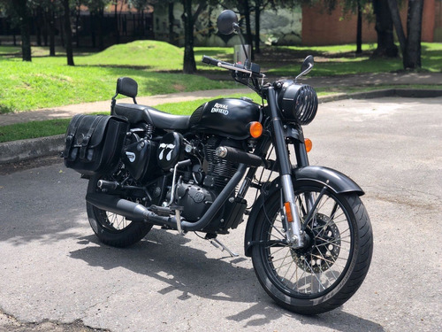 Royal Enfield - Stealth Black - Classic 500