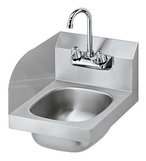Krowne Metal Hs-9-ls Space Saver Lavabo W / 6 Deep Bowl, 4
