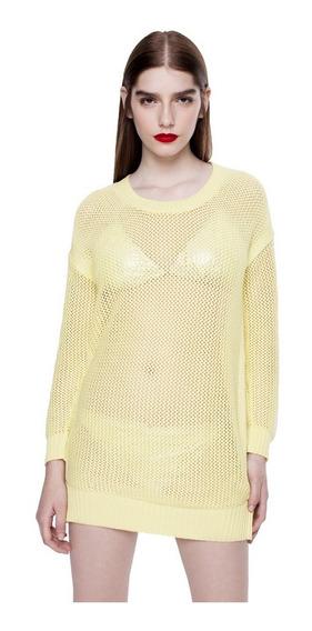 Sweater Spike Tejido Cuello Redondo Mujer Complot