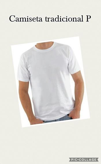 Lote 10 Camisetas Lisa 100% Poliester Camisasublimação Tam P