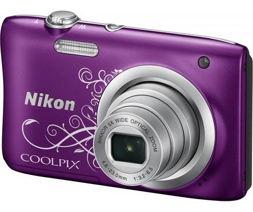 Câmera Nikon Coolpix A100 Compacta Mostruário Ler Descriçao