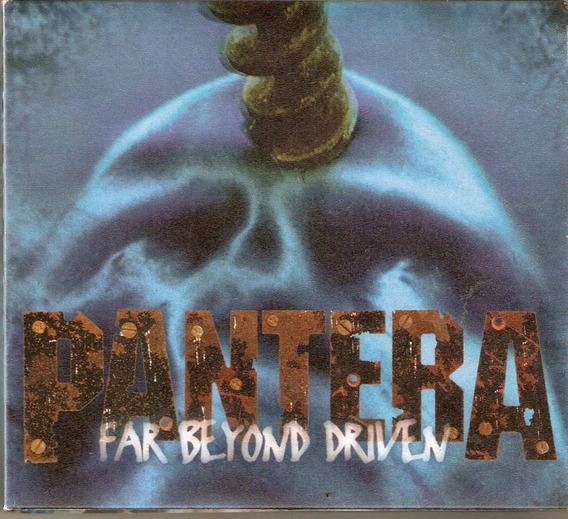 Cd Duplo Pantera - Far Beyond Driven - Novo***