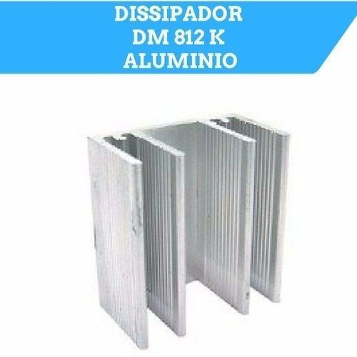 Dissipador De Calor Aluminio Dm812k 30x28x16 100 Peças !
