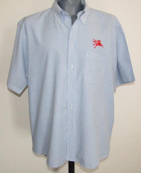 Edwards Camisa Con Logo Pegaso / Mobil Talla 2xl