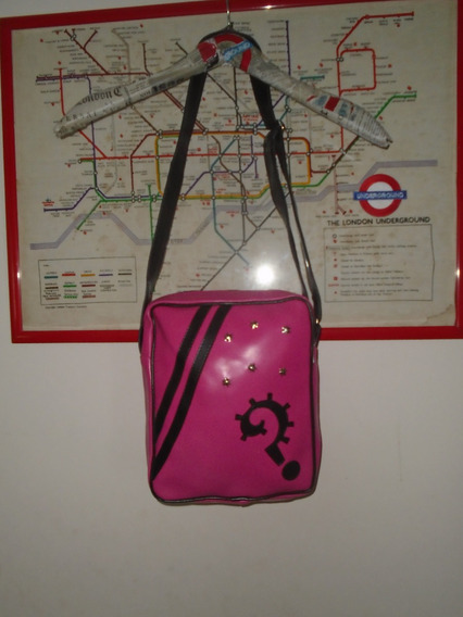 Cartera// Morral Pin Up/ London Vintage // Belgrano