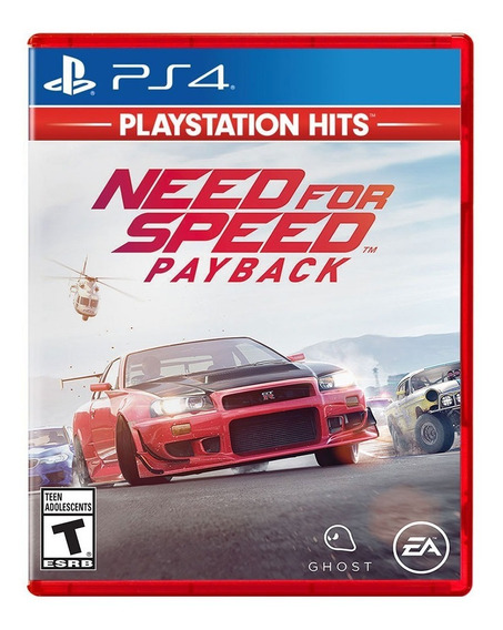 Need For Speed Payback - Ps4 - Novo - Mídia Física - Lacrado