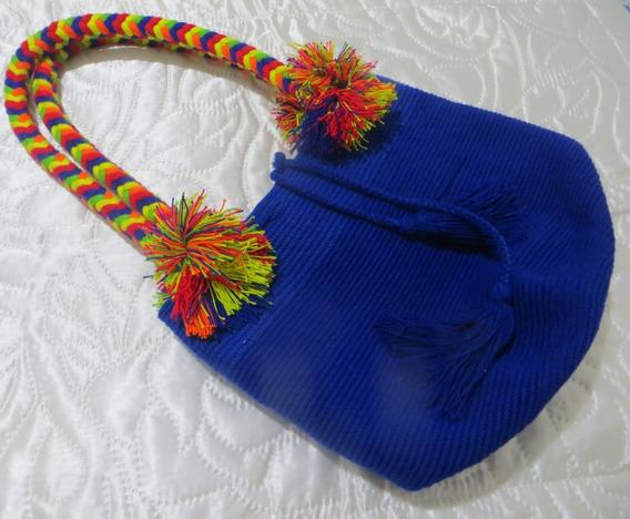 Bolsa Wayuu - Desenho Colorido - Original - Colombiana