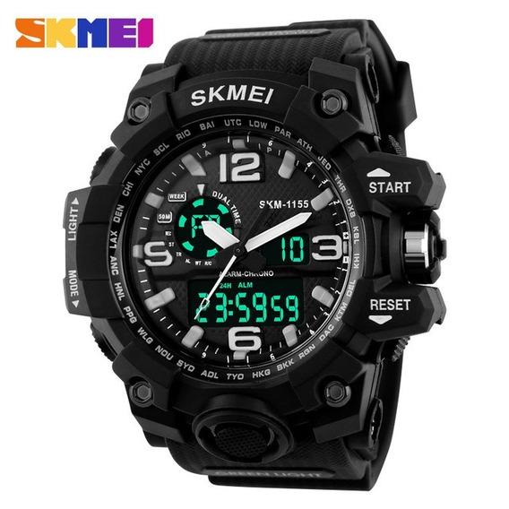 Relógio Masculino Esporte-militar Skmei 1155 Prova D
