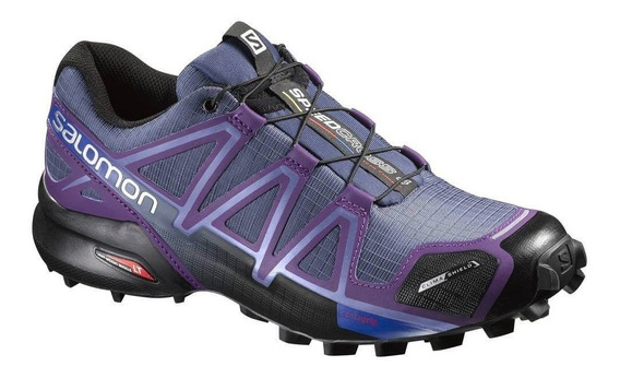 Tênis Salomon Original Speedcross 4 Cs Feminino Roxo