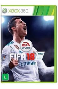 Fifa 18 - Xbox 360 Novo Mídia Original - Semi Novo