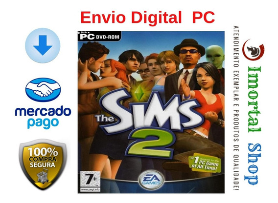 The Sims 2 Mídia Digital Ptbr Pc