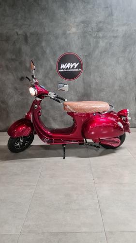 Imagem 1 de 5 de Wayy Vespa 3000w Moto Elétrica