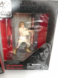 Star Wars Luke Skywalker 40 Aniversario Nuevo Y Original
