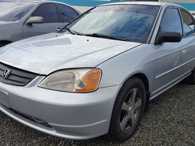 Honda Civic Gris 2001