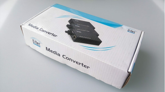 Media Converter 1000 Mbps Multimodo Dn 9900-m