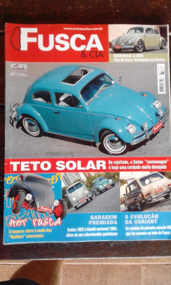 Fusca & Cia Nº6 Vw Sedan Cornowagen Variant German Look Hot
