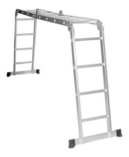 Escalera Plegable Multiproposito En Aluminio 16 Pasos
