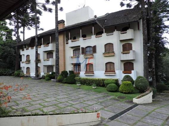 Ref 10.386 Excelente Apartamento No Morro Do Elefante Em Campos Do Jordão, 4 Dorms, 2 Suítes 1 Delas Com Sacada, 100 M² A.c. Mobiliado. - 10386