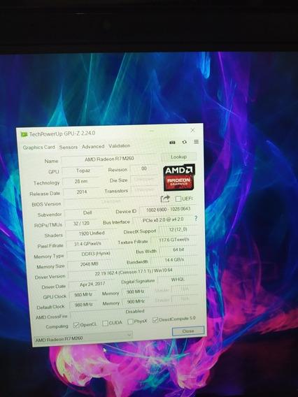 Notebook Dell I5 5 Geração Hd Ssd 16gb Touch Full Hd