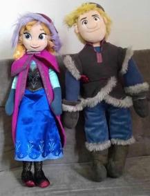 Lindos Anna E Kristoff Frozen De Pelúcia Originais Disney