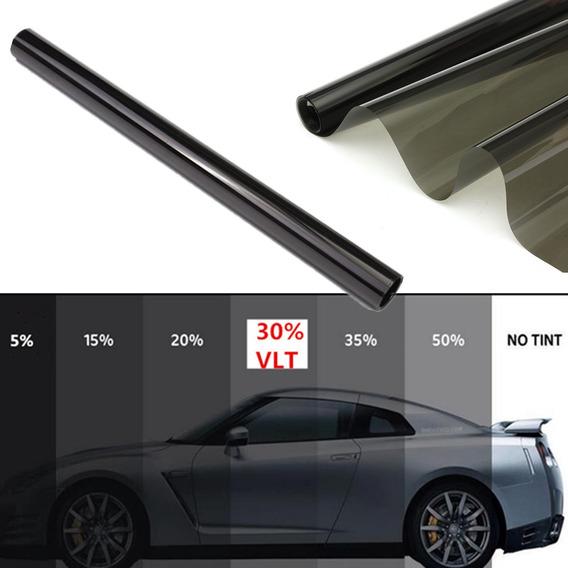50x600 Cm Car Window Tint Film Tinting Roll Kit 30% Vlt Ades