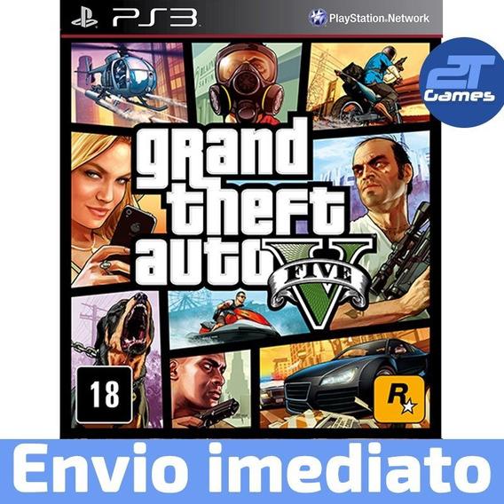 Grand Theft Auto V Ps3 (gta 5) Psn Digital Envio Imediato!