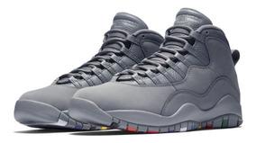 Tênis Nike Air Jordan 10 Retro Cool Grey Closer Look