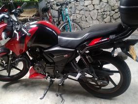 Moto Apache 160 Roja