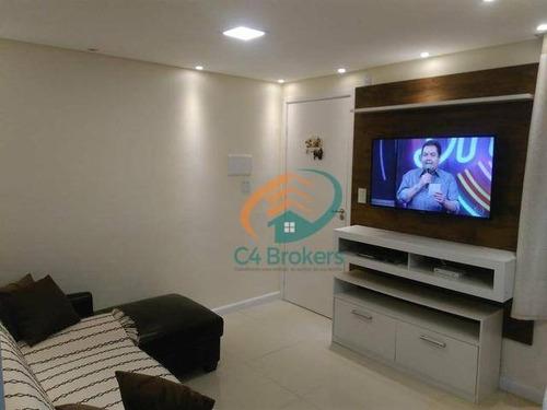 Imagem 1 de 20 de Apartamento À Venda, 40 M² Por R$ 230.000,00 - Vila Alzira - Guarulhos/sp - Ap1845