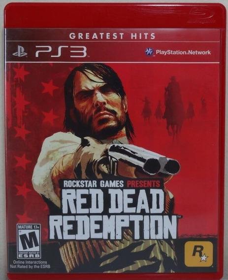 Jogo De Ps3 Red Dead Redemption Em Mídia Física