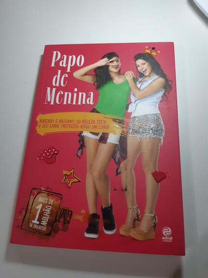 Papo De Menina Beleza Teen Livro Canal Youtube Adolescentes