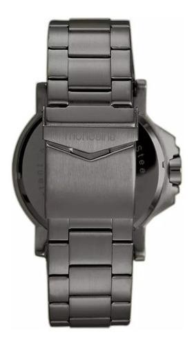 Relógio Mondaine Masculino Aço Preto 99233gpmvps2 Ultrasize