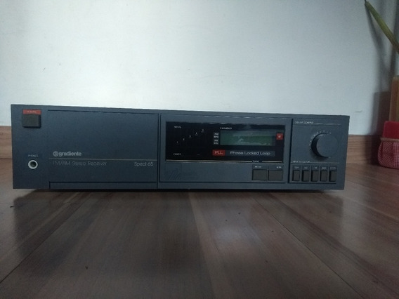 Amplificador Receiver Gradiente Spect 65 Bk