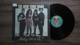 The New York Band, Nadie Como Tu, Lp Vinyl - Año- 1990