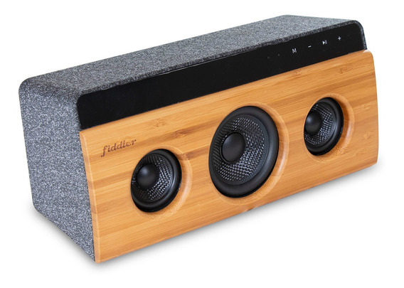 Parlante Bamboo Stereo 2.1 Fiddler 22w Bluetooth