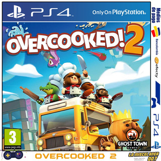 Overcooked 2 Ps4 Digital | Cupo Principal