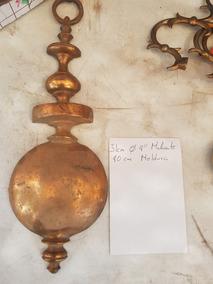 Enorme Moldura En Cobre Para Mueble Decoración Antigua