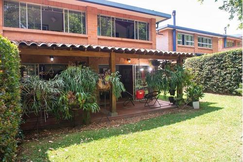 Casa En Surámerica La Estrella Amplias Zonas Verdes Dos Niveles