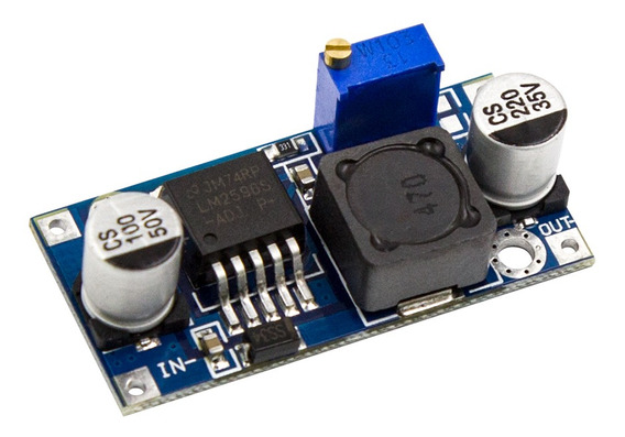 Kit 5 Módulo Regulador De Tensão Ajustável Lm2596 Step Down