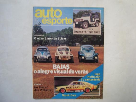 Revista Auto Esporte N. 251 - Bajas