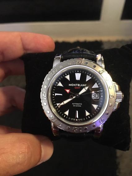 Relógio Suíço Montblanc Gmt Automático