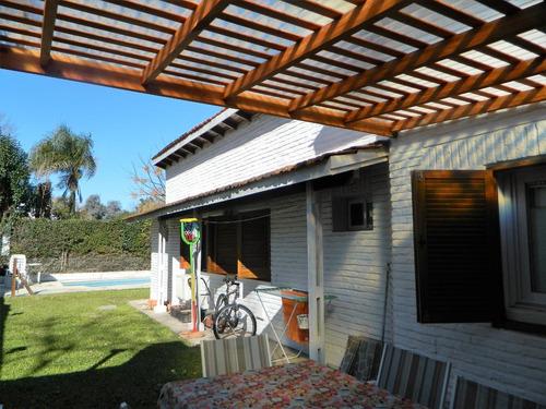 Imagen 1 de 14 de Casa En Venta Con Pileta En Maschwitz Country Club Escobar