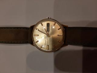 Reloj Renis, Cuerda Manual, Doble Calendario,