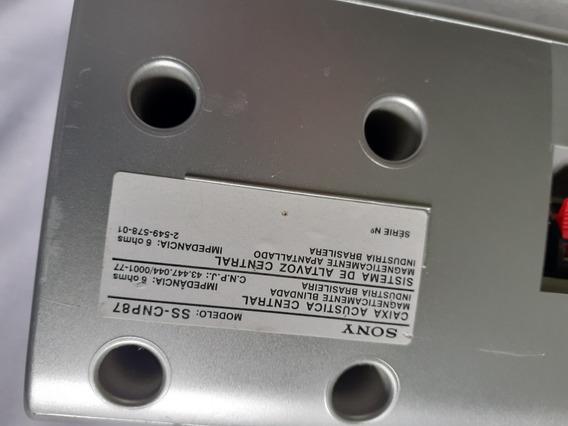 Caixas P/reciver Sony Mod: Ss -cnp87 ( 6ahms)(par De Caixas)