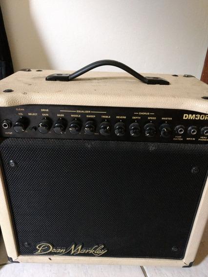 Guitarra Ibanez E Amplo Deam Markly