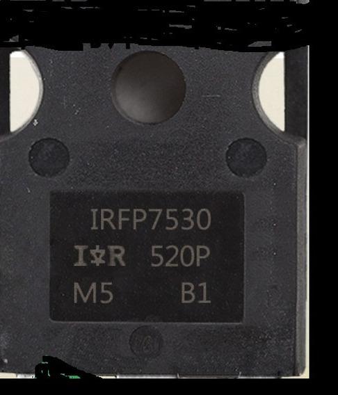 2 Pc Transitor Irfp7530 * Irfp 7530 - Original Fonte Usina