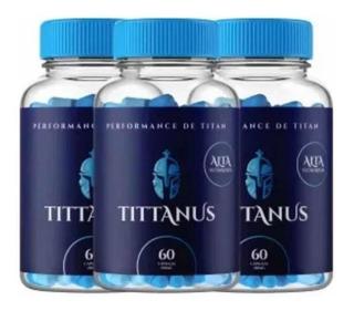 Tittanus Original - 2 Potes = 120caps - Promoção Relâmpag
