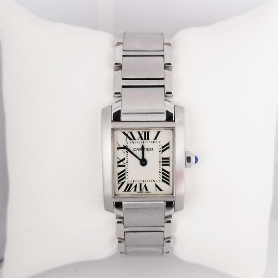 Reloj Dama Tank Francaise De Cartier Original 2384