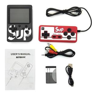 Nintendo Portatil Game Box 400 Juegos En 1 Retro 18 Ver.des